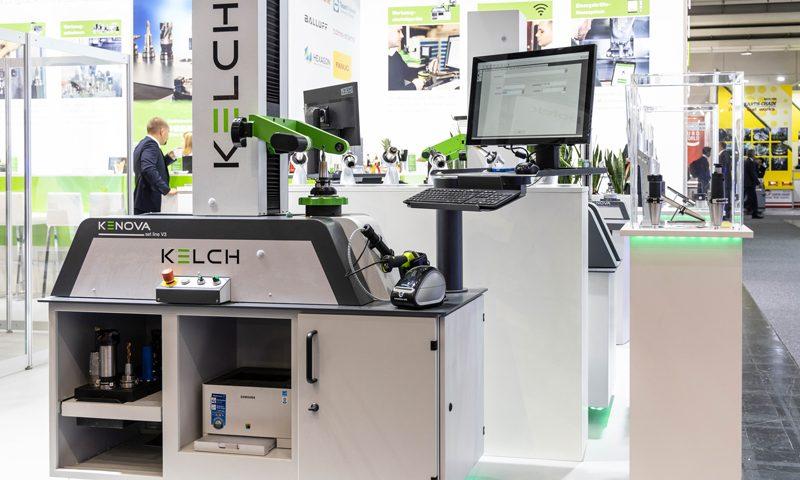 Anstelle der Präsentation am Messestand, wie hier EMO 2019, werden die Werkzeugeinstellgeräte im Rahmen von Live-Webinaren auf der digitalen Plattform von Intec/Z connect am 2. und 3. März 2021 vorgeführt.