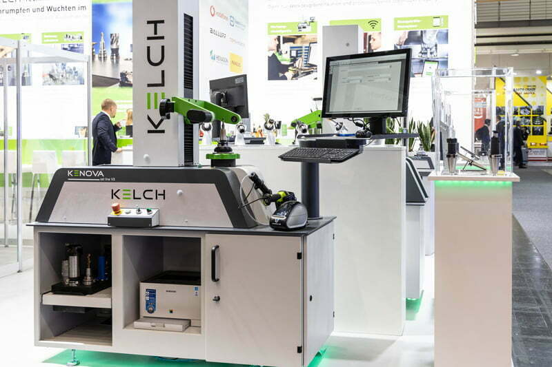 Instead of exhibiting products on its exhibition stand, as here at EMO 2019, KELCH will be showcasing its tool presetters in live webinars on the 2nd and 3rd of March 2021 on the Intec/Z connect digital platform.